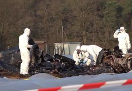 Drei Tote bei Flugzeugabsturz