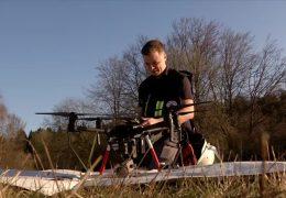 DRK nutzt Drohnen im Rettungseinsatz