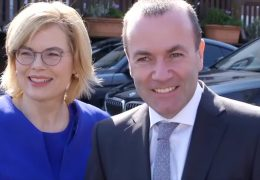 Europa-Lunch mit Manfred Weber