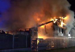 Brand zerstört Wohnhaus in Zwingenberg