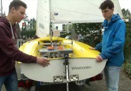 Mainzer Jungforscher bauen selbstfahrendes Segelboot