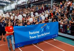 Down-Sportlerfestival in Frankfurt