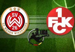 Südwestderby Wehen Wiesbaden gegen den FCK