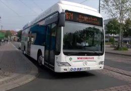 Darmstadt testet Brennstoffzellenbus
