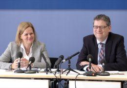 Nancy Faeser soll auf Thorsten Schäfer-Gümbel folgen