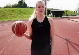 Marie aus Linz spielt in der amerikanischen Basketball-Profiliga