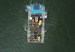 Energiegewinnung im Fluß