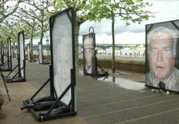"""Holocaust-Ausstellung """"Gegen das Vergessen"""""""