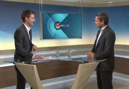 Zu Gast im Studio: Der rheinland-pfälzische CDU-Fraktionsvorsitzende Christian Baldauf
