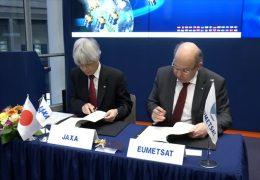 Eumetsat in Darmstadt kooperiert mit japanischer Weltraumbehörde