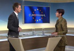 Die 17:30-Sondersendungen zur Europa-Wahl: Zu Gast im Studio Christine Anderson