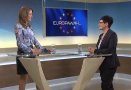 Die 17:30-Sondersendungen zur Europawahl – Zu Gast im Studio: Christine Schneider