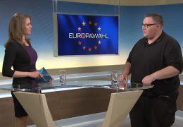 Die 17:30-Sondersendungen zur Europawahl – Zu Gast im Studio: David Schwarzendahl