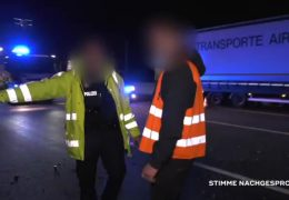 Unfall auf der A5 – Polizist bringt Gaffer zum Weinen