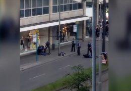 Schießerei in Frankfurter Innenstadt