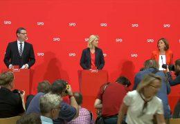 Trio übernimmt kommissarisch die SPD-Führung