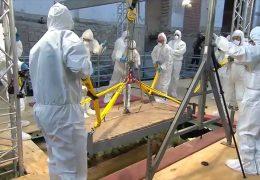 Mainz: Forscher öffnen 1000 Jahre alten  Sarkophag