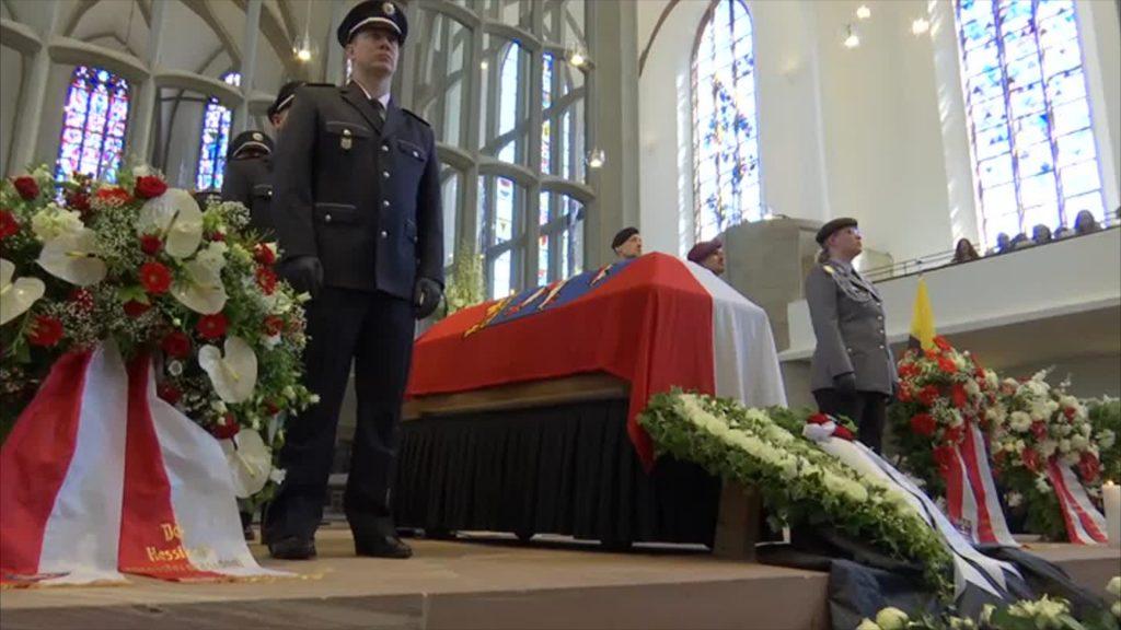 Trauerfeier für Walter Lübcke in Kassel