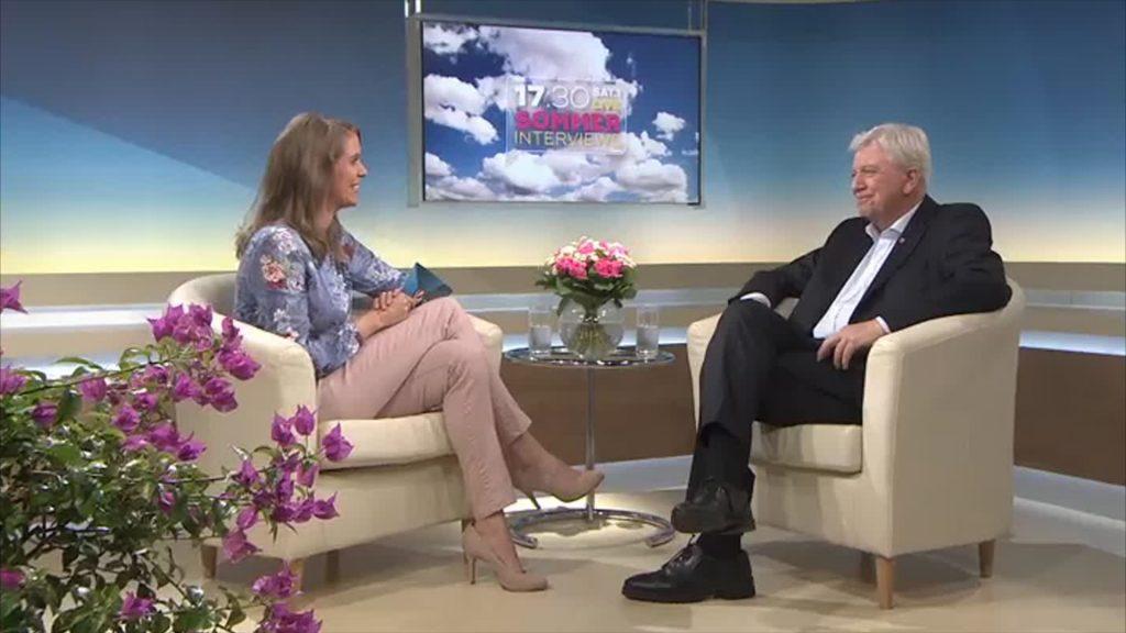 Das Sommerinterview mit Volker Bouffier (CDU)