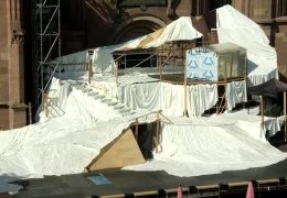 Bühnenbild der Nibelungen entsteht