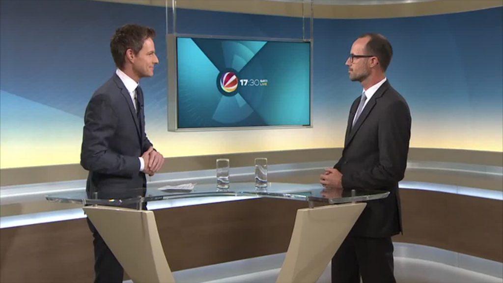 Studiogespräch mit Staatskanzlei-Chef Clemens Hoch über den neuen Glücksspielstaatsvertrag