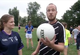 Der 17:30-Sportchecker beim Gaelic Football in Frankfurt