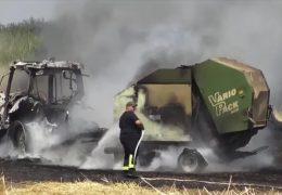 Felder in Flammen
