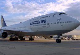 Lufthansa mit Gewinneinbruch