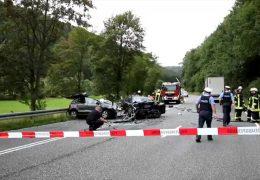 Tödlicher Unfall auf der B253