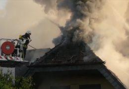 Zwei Tote bei Brand in Gießen