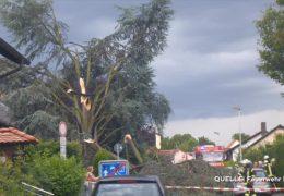 Unwetter verursachen große Schäden