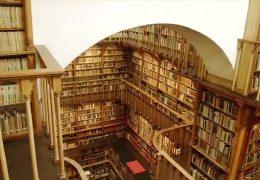 Die Bibliothek der Abtei Maria Laach