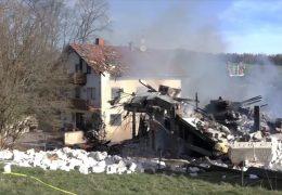 Prozess – Haus mit selbstgebauter Bombe gesprengt
