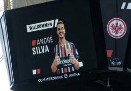 Eintracht Frankfurt stellt neuen Stürmer André Silva vor