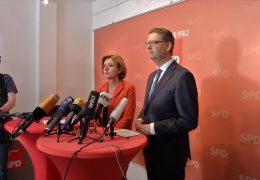 Nach Schwesigs Brustkrebsdiagnose: Malu Dreyer über nimmt kommisarischen SPD-Vorsitz im Oktober