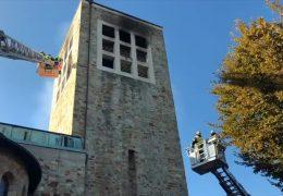 Kirchenbrand in Wiesbaden-Bierstadt