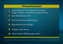 Die wichtigsten Ergebnisse des Klimapakets der Großen Koalition