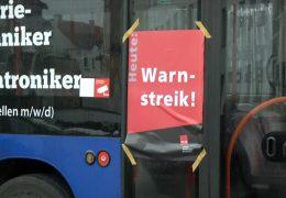 In Hessen stehen die Busse still