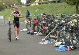 Extremsportler Tristan Vinzent trainiert für 10-fach Ironman