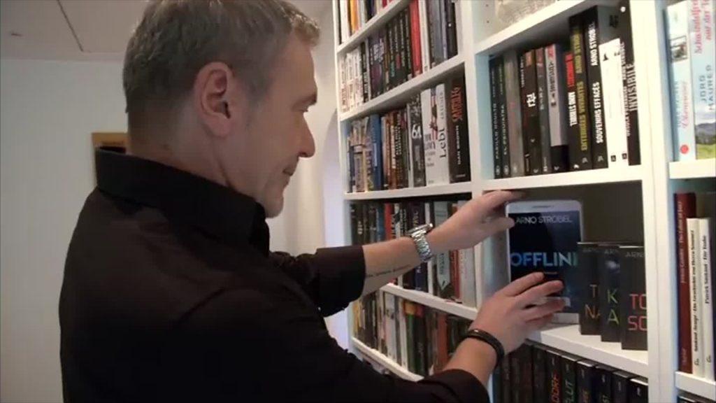 Besuch bei Bestsellerautor Arno Strobel
