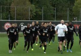 In der Europa League empfängt die Eintracht Standard Lüttich aus Belgien