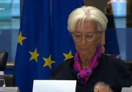 Wechsel an der Spitze der EZB in Frankfurt