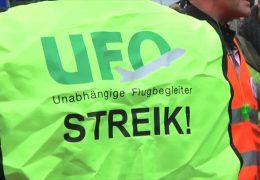 UFO ruft Flugbegleiter zu Streik auf