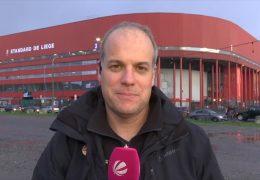 Sportreporter Thorsten Arnold in Lüttich
