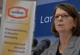 Ministerin Hinz stellt Bericht zu Wilke-Wurst vor