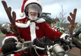 Riding Santas auf Spendentour
