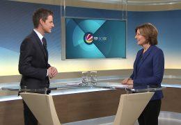 Die rheinland-pfälzische Ministerpräsidentin Malu Dreyer als Gastmoderatorin