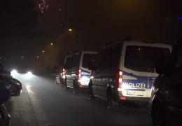 Unruhige Silvesternacht in Frankfurt