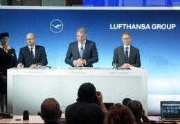 Turbulente Zeiten für die Lufthansa