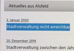 Cyberangriff auf die Stadtverwaltung von Alsfeld